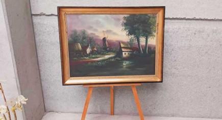 Старинно кресло