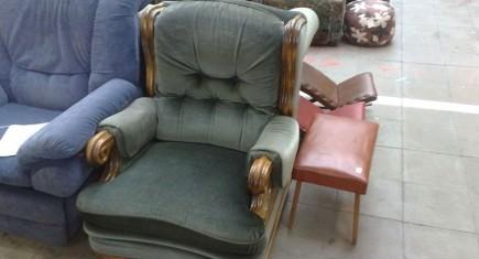 Кресло с дамаска-4
