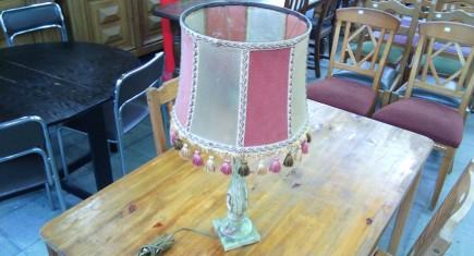 Нощна лампа с ониксова основа