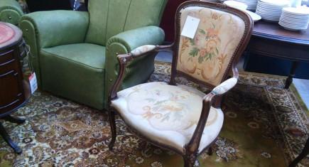 "Кресло с гобленова дамаска  ""Луи ХV"""