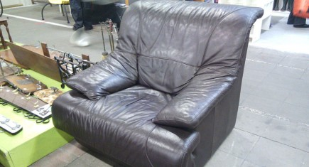 "Единично кресло ""кубично"""