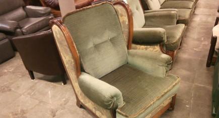 Кресло с дамаска-2