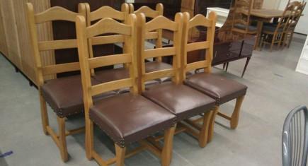 Масивни трапезни столове