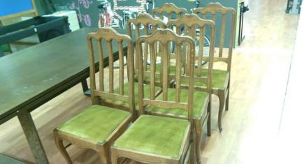 """Столове за трапезария  """"Луи ХV"""" -  6 бр."""