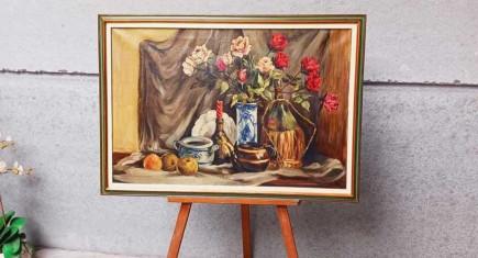 Дъбов стол