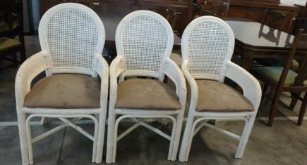 Ратанови кресла - 3бр.