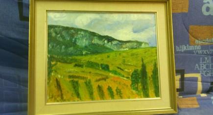 "Картина ""Планински пейзаж"""