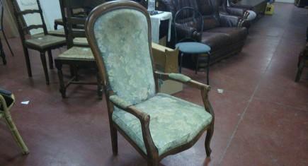 "Кресло ""Луи ХV"", с дамаска"
