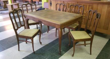 Трапезна маса + 5 стола