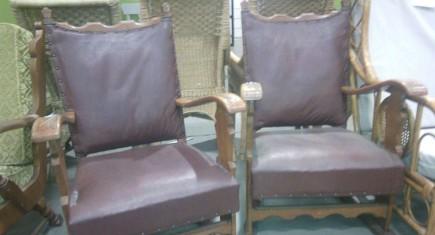 Кресла - 2бр. с еко кожа