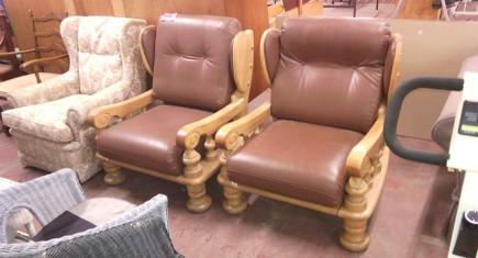 Кресла с дъбова конструкция-1